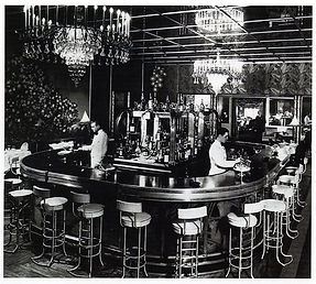 The Bar at The Central Park Casino 1936.
