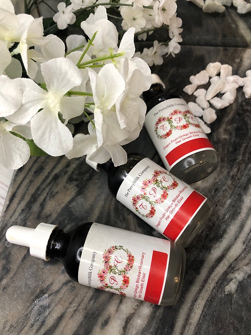 DragonFruit + Ginkgo Biloba + Rosemary Hair Growth Serum - 2oz