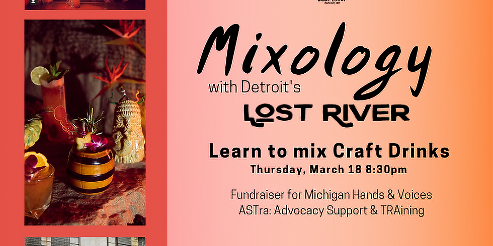 Mixology Fundraiser for Michigan Hands & Voices