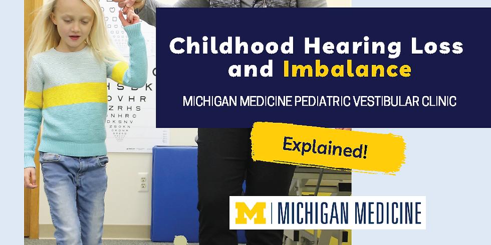 Michigan Medicine Pediatric Vestibular Clinic: Explained!