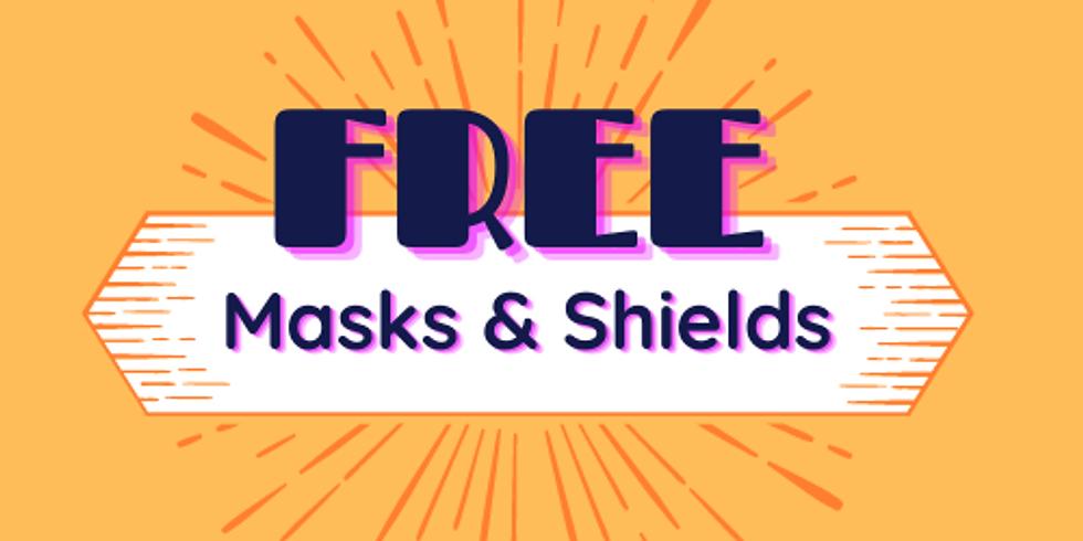 FREE Masks & Shields