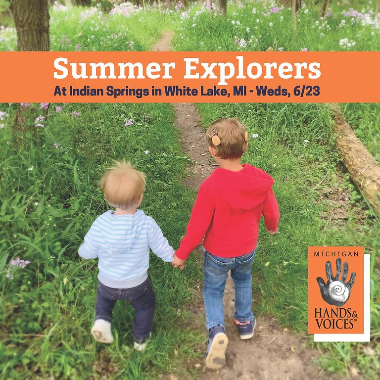 Summer Explorers in White Lake