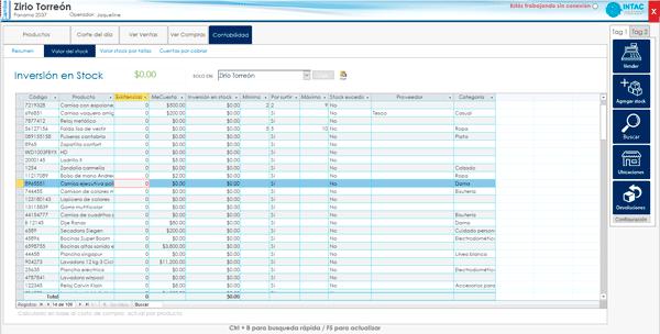 Software inversion en stock