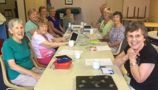 Switched on Seniors enjoying themselves