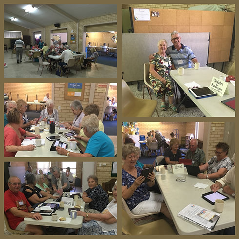 Switched on Seniors Group learning together