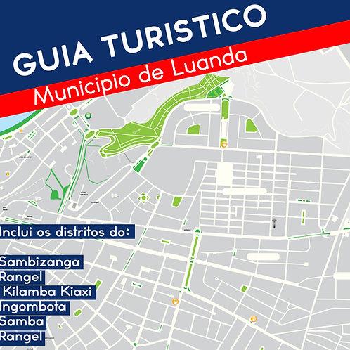 Mapa turístico de Luanda