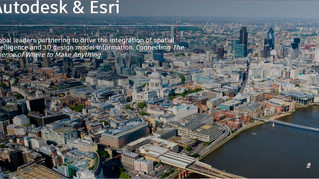 Esri e Autodesk firmam parceria