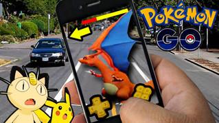 Pokémon Go, os descuidados, as vantagens e as geotecnologias no jogo