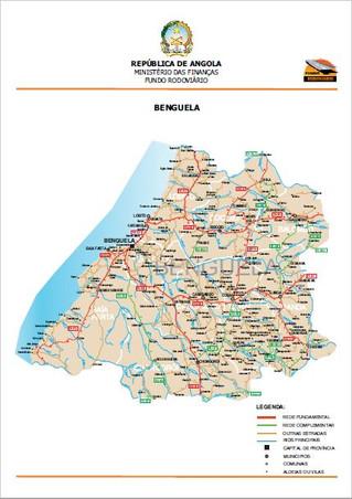 Fundo rodoviário disponibiliza Atlas das estradas das 18 províncias de Angola