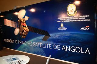 AngoSAT, o satélite Angolano a ser lançado próximo mês (Dezembro)