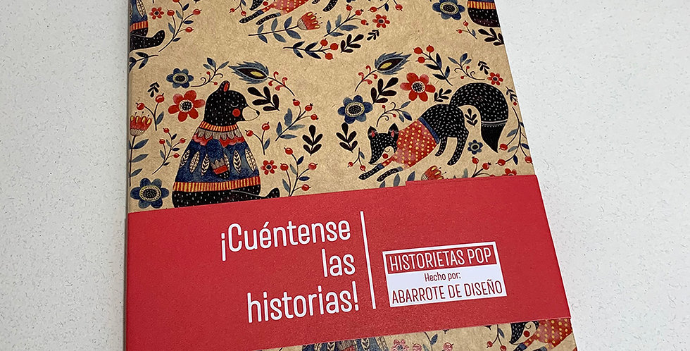 Libreta Historietas Pop 005