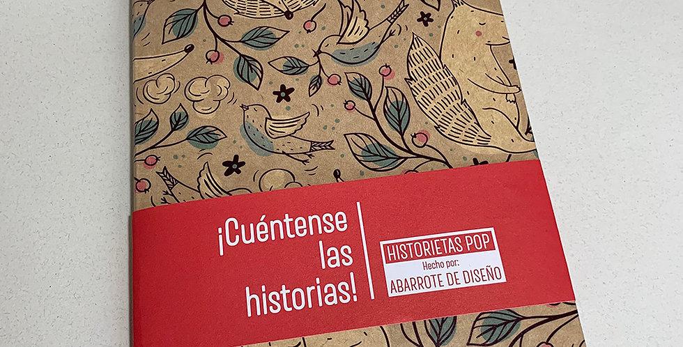 Libreta Historietas Pop 008
