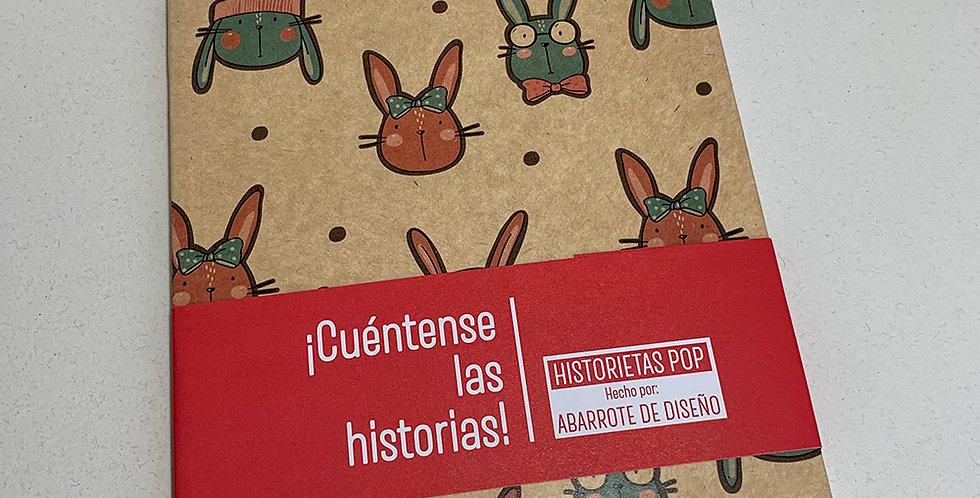 Libreta Historietas Pop 004