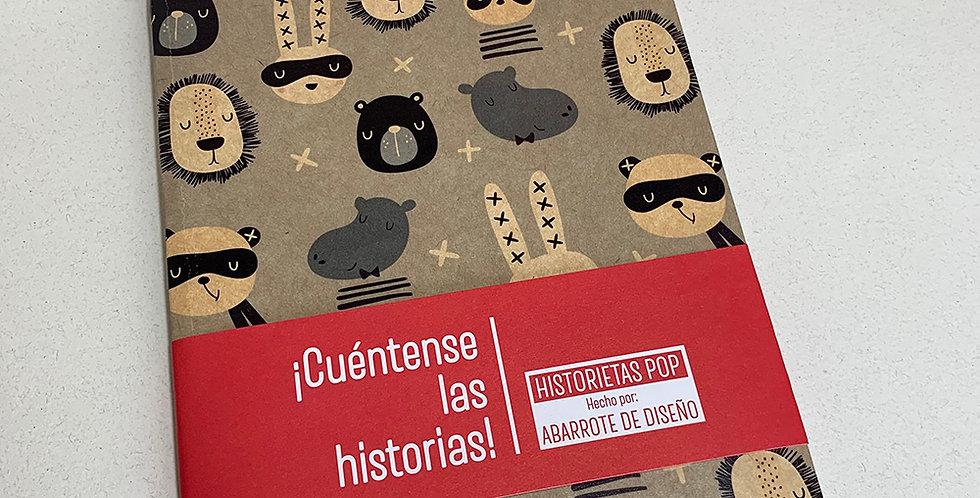 Libreta Historietas Pop 009