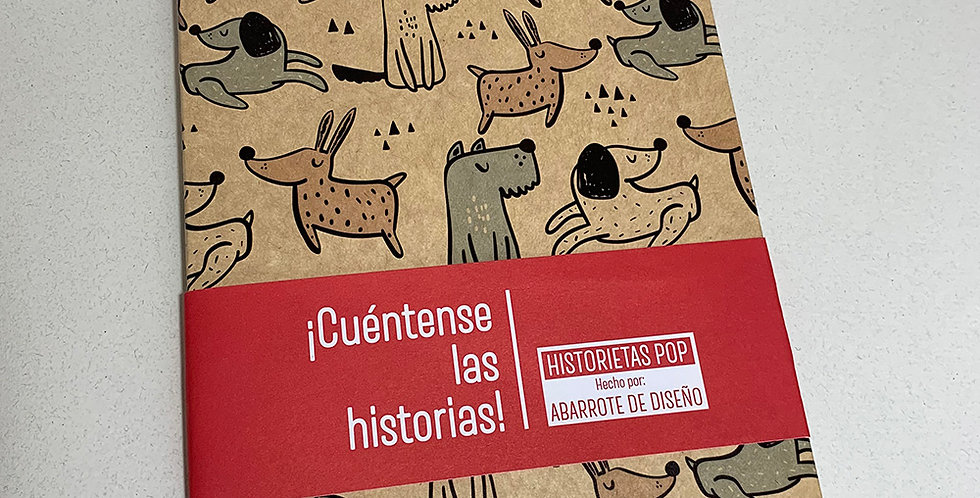 Libreta Historietas Pop 001
