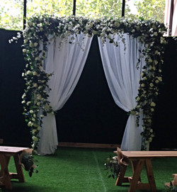 Large Floral Archway  - $500
