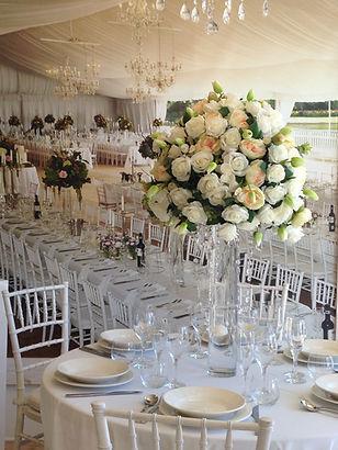 Wedding florist bridal bouquets adelaide wedding florist large floral center piece 150 junglespirit Image collections