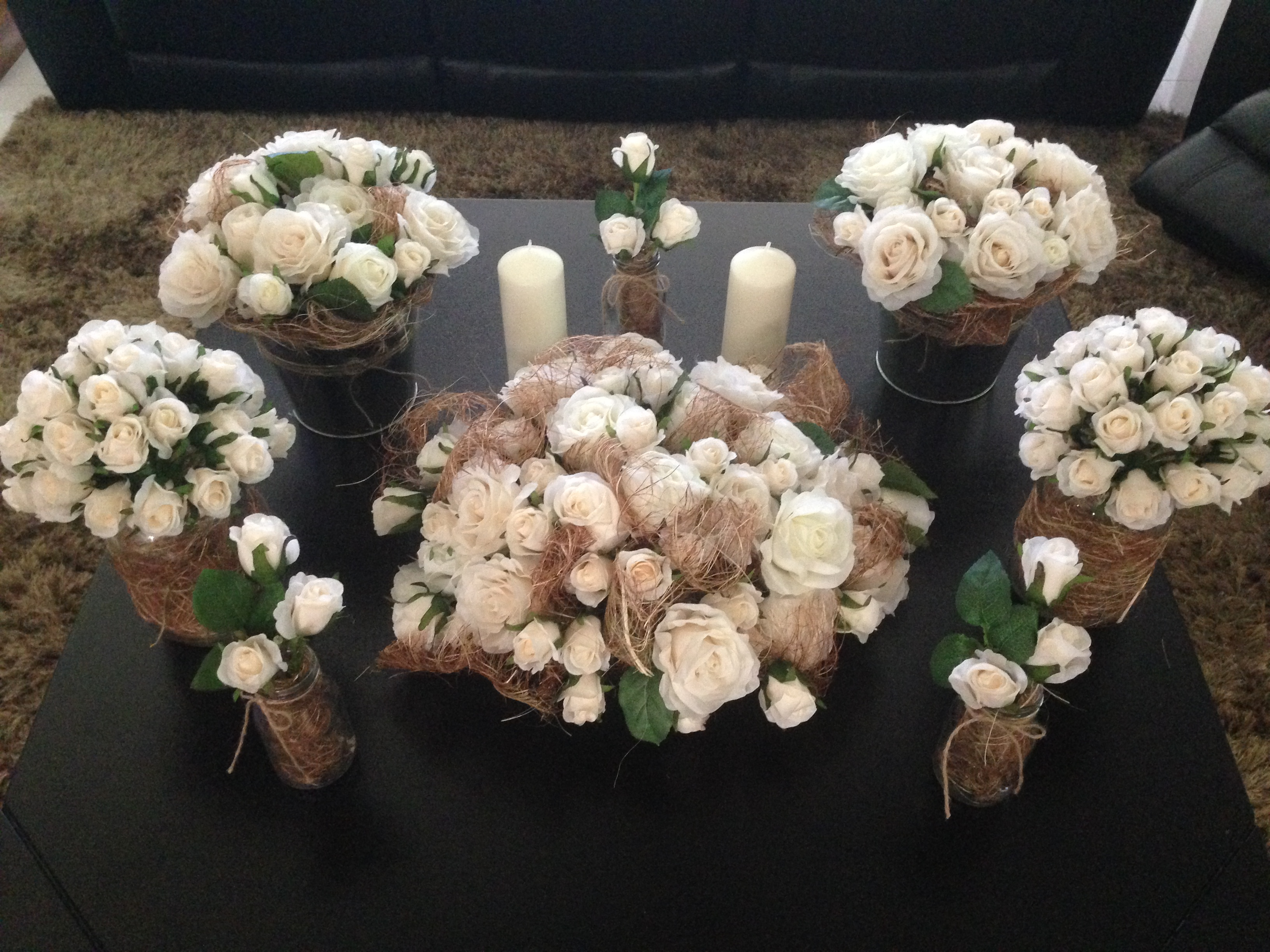 Complete Bridal Table Decor. $120
