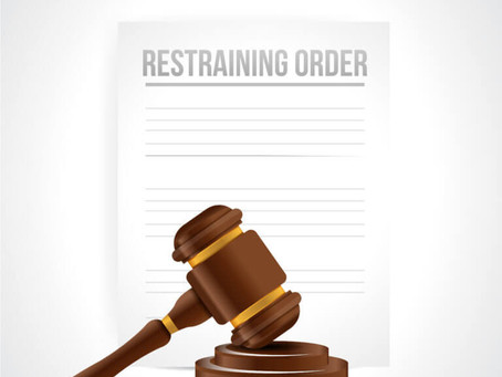 I Have Been Served With A Restraining Order. What Should I Do?