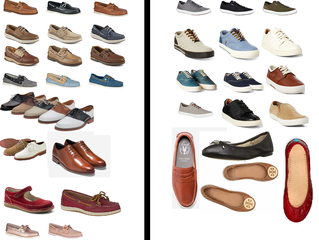 Approved & Not Approved Shoe Styles