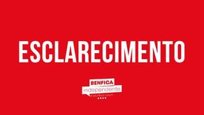 ESCLARECIMENTO BENFICA TV