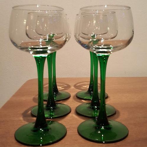 Jaren '60 wijnglas, Luminarc, France