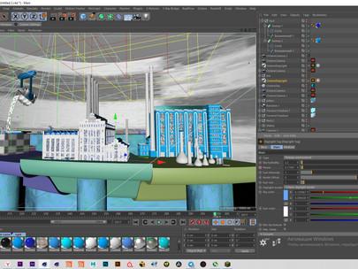 Разработка 3D графики