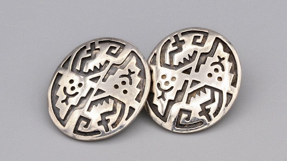 Modernist Tribal Earrings