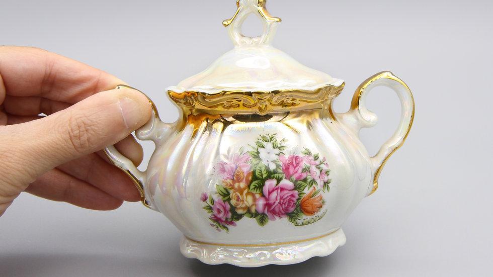 Shirakabe Japan Lidded Sugar Bowl