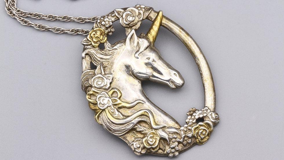 Magic Unicorn Pendant Necklace
