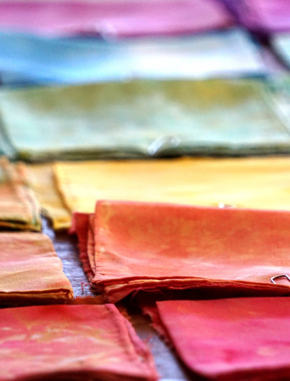 Our silk color chart