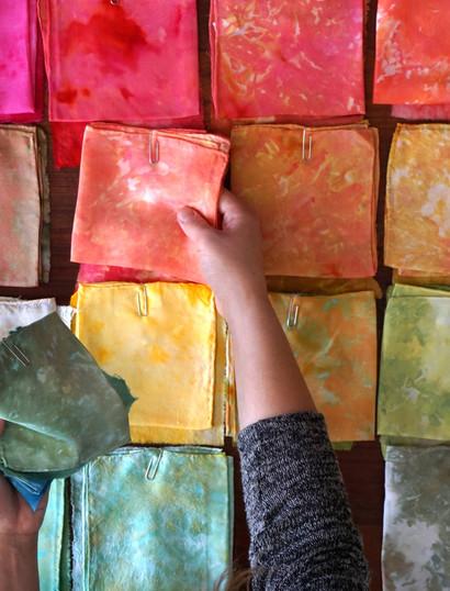 Planning new colorways