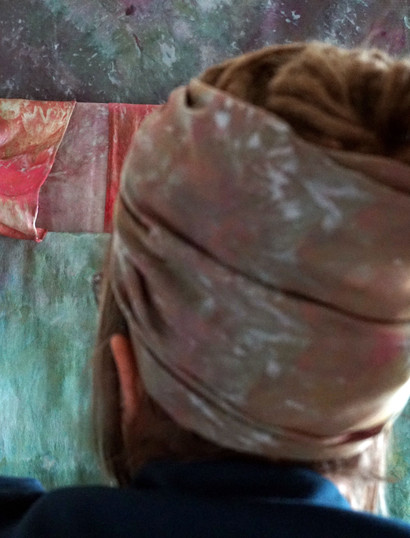 East Street Hive silk scarves
