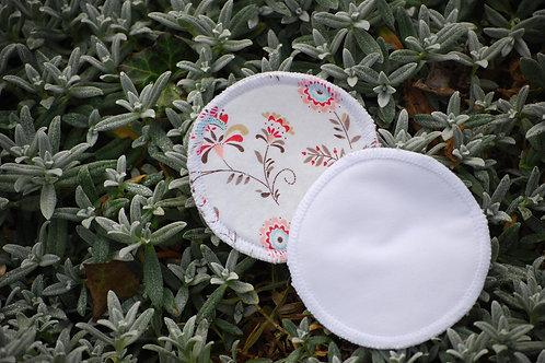 VLOŽKY DO PODPRSENKY - Meruňkové květy - 1 pár