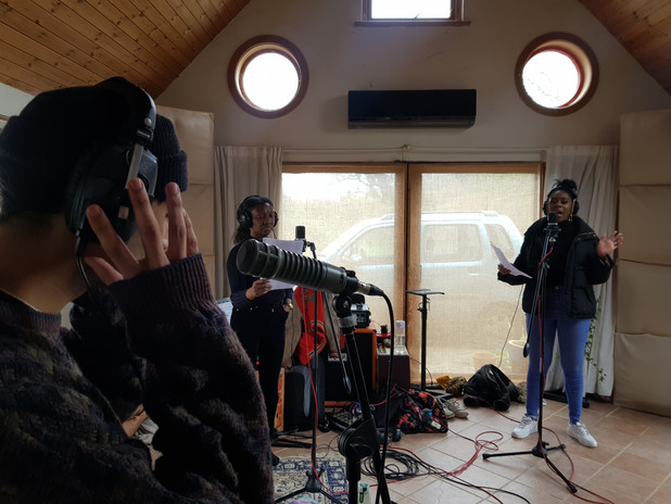The Garden Live recording sessions at The Boat House Ipswich
