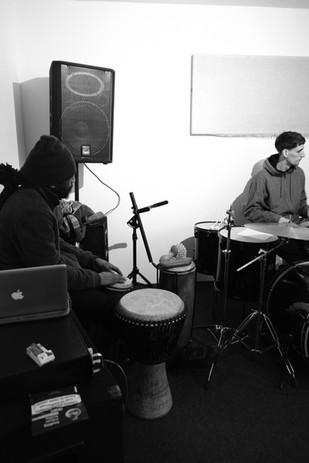 The Garden rehearsal sessions at SuperUnison Studios, Peckhamh .jpg