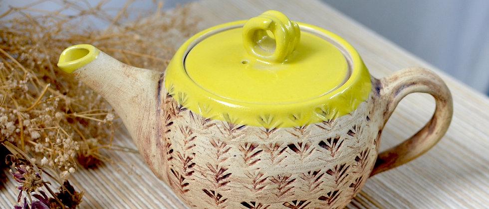 Sunshine tea pot