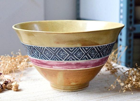 Chi-Rho popcorn bowl