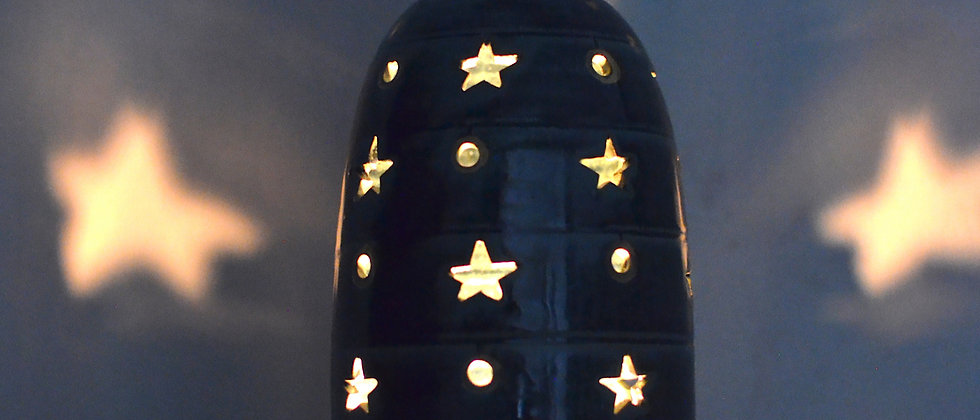 Mavi Candle Lamp