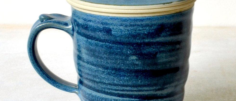 Tea Infuser Mug Set (Mavi)