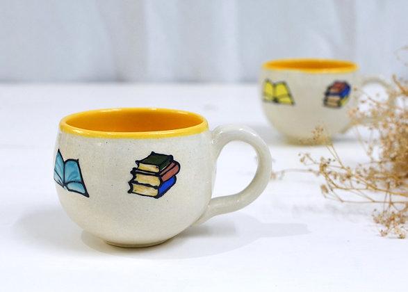 The Reader's Tea Cups