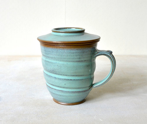 Tea Infuser Mug Set (Rustic Mint)