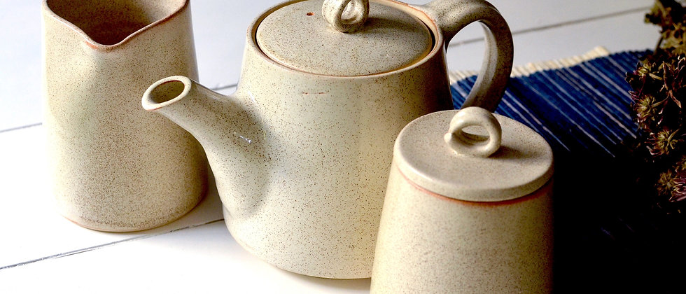 Moho tea pot set