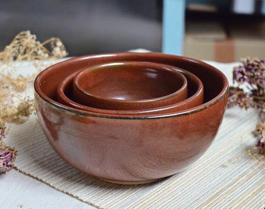 Rojiza Nesting Bowls