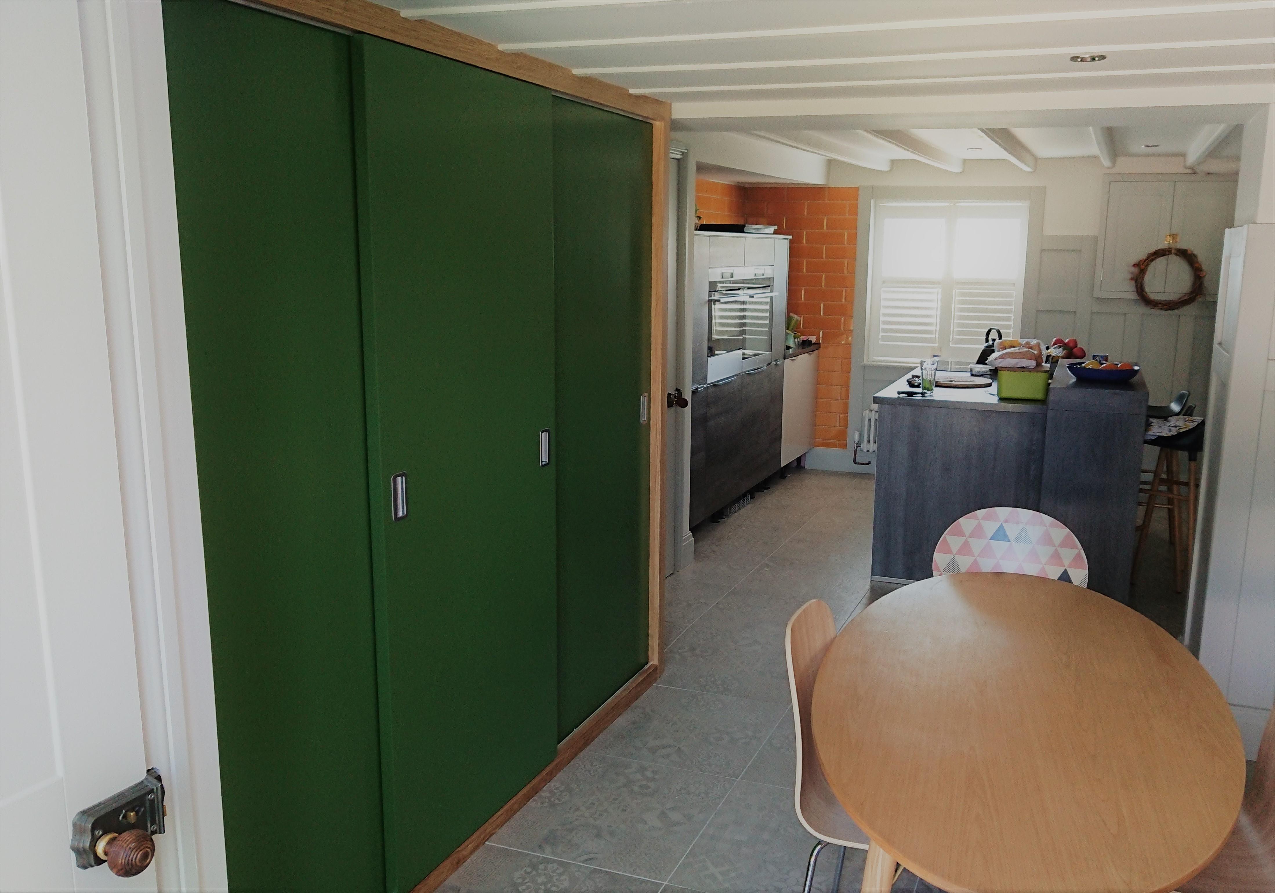 Appliance hideaway