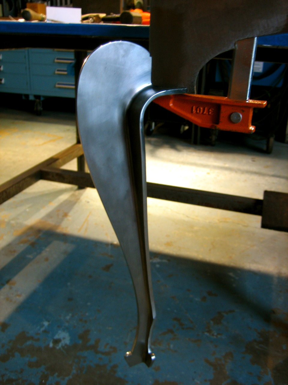 Queen Anne Table Leg