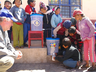 Installation of water filters in Rural Community schools in Peru- Mullak'as – Misminay