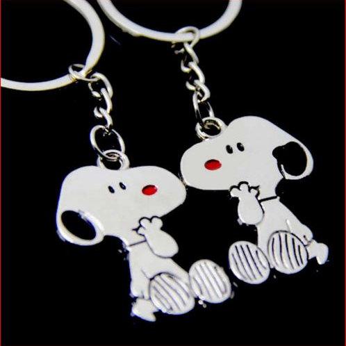 Lovers sleutelhanger hond