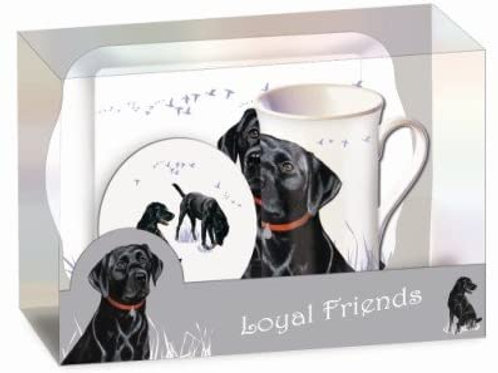 Loyal Friends - Labrador - Theeservies - Theetijd cadeauset