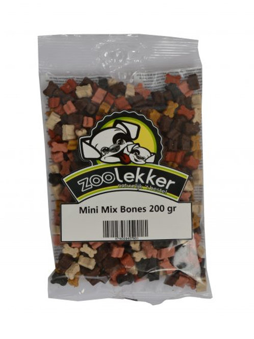Mix Mini Bones Zoolekker